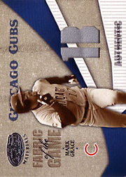 2004 Leaf Certified Materials #FG74 Fabric of the Game Jersey 1B SN#080/100