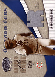 2004 Leaf Certified Materials #FG74 Fabric of the Game Jersey HR SN#16/17
