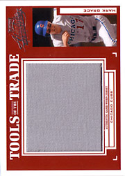 2004 Playoff Absolute Memorabilia #TT-88 Tools of the Trade Red Jumbo Jersey SN#1/5