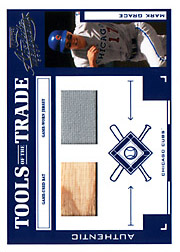 2004 Playoff Absolute Memorabilia #TT-88 Tools of the Trade Blue Bat/Jersey SN#030/250