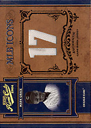 2004 Playoff Prime Cuts II #MLB-27 MLB Icons Jersey 17 SN#1/1