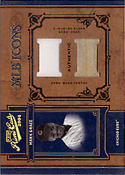 2004 Playoff Prime Cuts II #MLB-27 MLB Icons Jersey/Glove SN#1/1
