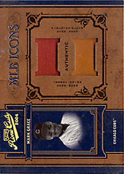 2004 Playoff Prime Cuts II #MLB-27 MLB Icons Patch/Glove SN#1/5