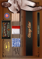 2005 Donruss Timeless Treasures #G-17 Gamers Dual Patches/Bat SN#05/10