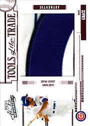2005 Playoff Absolute Memorabilia #TT-83 Tools of the Trade Red Jumbo Patch SN#1/1
