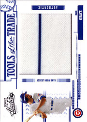2005 Playoff Absolute Memorabilia #TT-83 Tools of the Trade Blue Jumbo Jersey SN#37/50