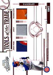 2005 Playoff Absolute Memorabilia #TT-150 Tools of the Trade Patch/Jersey/Glove SN#01/10