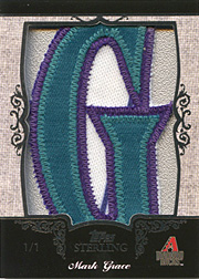2007 Topps Sterling Letter Patch