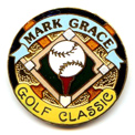 2003 Mark Grace Golf Classic Ball Marker by Sandy Parr Studios Limited Edition of 300