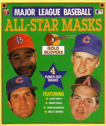 1990 Gallery Books MLB All-Star Masks Gold Glovers
