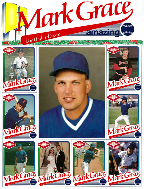 "1989 Richard Duglin, W/R Associates c/o Baseball Cards-N-More Autographed SN#1091/15000 (Size is 10""x13"")"