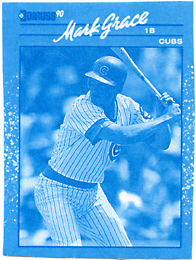 1990 Donruss Opening Day Blue Line Proof #51