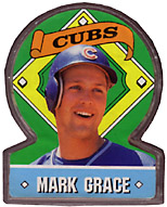 1991 Topps Candy #16 Clear