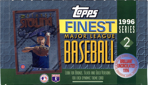 1996 Topps Finest Series 2 Box