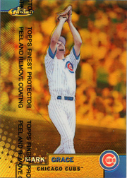 1999 Topps Finest Gold Refractor #6 No Serial Number - Front