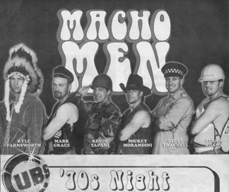 Macho Men Cubs Advertisement