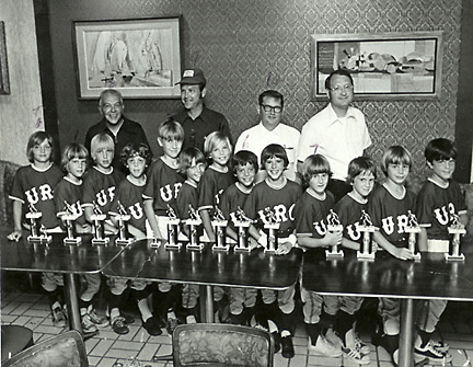 Mark Grace Little League Photo