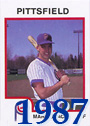 1987 Mark Grace Cards