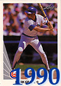 1990 Mark Grace Cards