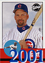 2001 Mark Grace Cards