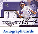Mark Grace Autograph Cards