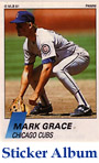Mark Grace Sticker Album Cards